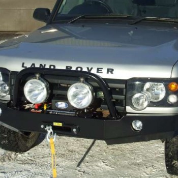 discovery 2 front bumper modification