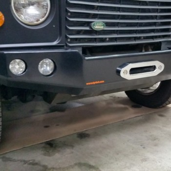 HD Winch Bumper Powdercoated