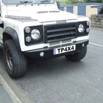 Rock Bumper on Defender