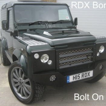 defender rock bumper
