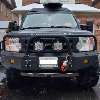 Disco 3 Winch Bumper
